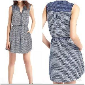 GAP  blue flower sunday dress